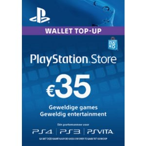 PS4 PlayStation Network - 35 Euro (BE)