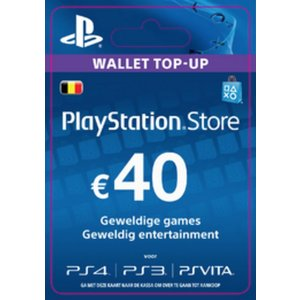 PS4 PlayStation Network - 40 Euro (BE)