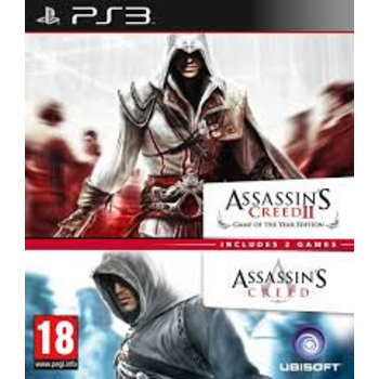PS3 Assassin's Creed Double Pack
