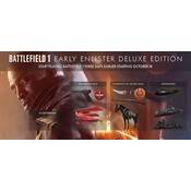 PS4 PlayStation Network - Battlefield 1 - Early Enlister Deluxe Edition (BE)
