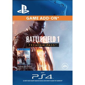 PS4 PlayStation Network - Battlefield 1 - Premium Pass (BE)