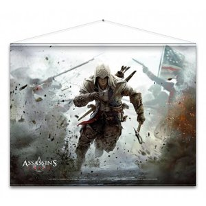 Merchandising ASSASSIN'S CREED - WallScroll 77X100 - Connor