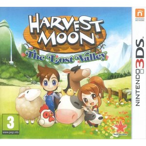 3DS Harvest Moon Lost Valley