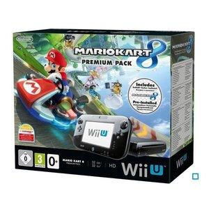 WiiU Console Wii U Premium Pack MARIO KART 8 (pre-installed game)
