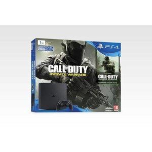 PS4 Console PS4 SLIM - 1 TB - Black COD IW + Legacy Edition BUNDLE