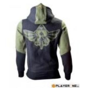 Merchandising NINTENDO - ZELDA : Green Character Zip Hoodie (XXL)