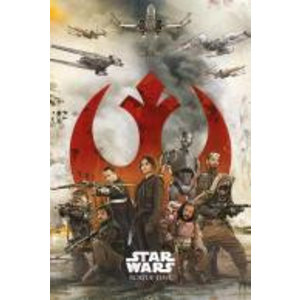 Merchandising STAR WARS ROGUE ONE - Poster 61X91 - Rebels