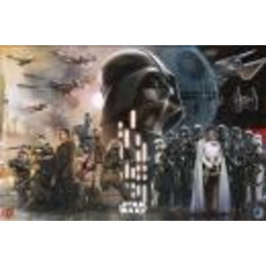 Merchandising STAR WARS ROGUE ONE - Poster 61X91 - Rebels vs Empire