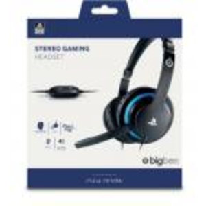 PS4 Official Playstation Gaming Headset V2 for PS4 - Bigben