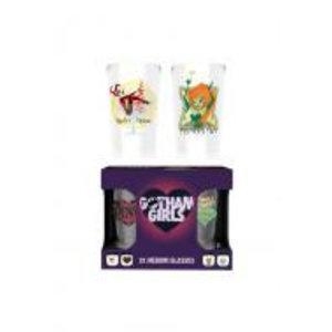 Merchandising DC COMICS - Twin Medium Glasses 275ml - Gotham Girlds