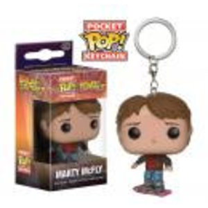 Merchandising Pocket Pop Keychains : Back to the Futur - Marty Mcfly on Hoverboard