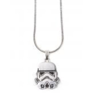 Merchandising STAR WARS - Stormtrooper Helmet Silver Necklace