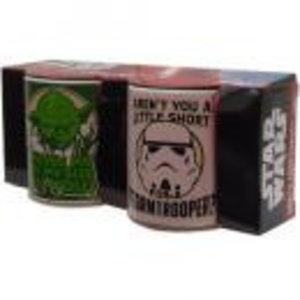 Merchandising STAR WARS - Mini Mug 110 ml set of 2 - Yoda and Stormtrooper