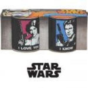 Merchandising STAR WARS - Mini Mug 110 ml set of 2 - I LOVE YOU