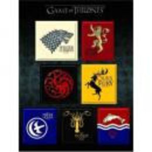 Merchandising GAME OF THRONES - Magnets Set - House Sigil