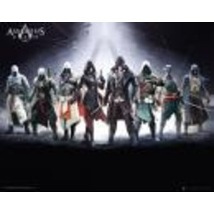 Merchandising ASSASSIN'S CREED - Mini Poster 40X50 - Characters