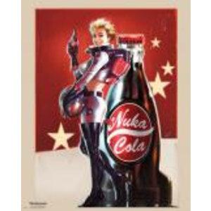 Merchandising FALLOUT 4 - Mini Poster 40X50 - Nuka Cola