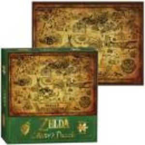 Merchandising ZELDA - Puzzle The Legend of Zelda - Hyrule Map