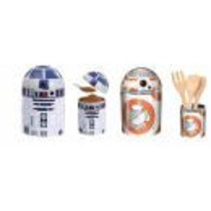 Merchandising STAR WARS - Droids Kitchen Storage BB-8 / R2-D2 (Twinpack)