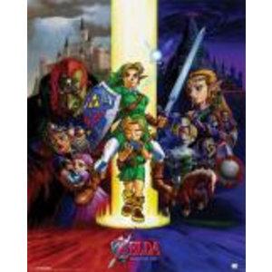 Merchandising LEGEND OF ZELDA - Mini Poster 40X50 - Ocarina of Time