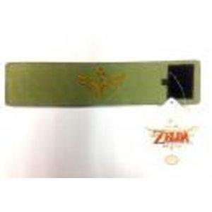 Merchandising NINTENDO - ZELDA - Green Zelda Canvas Wristband
