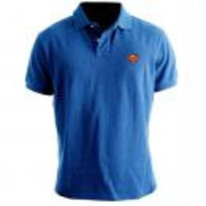Merchandising SUPERMAN - Polo - Logo Superman - Cobalt (S)