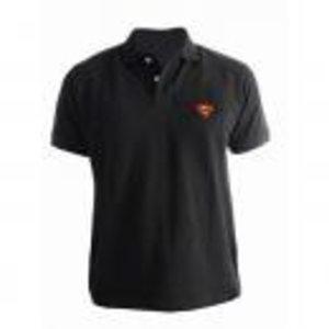 Merchandising SUPERMAN - Polo - Logo Superman - Black (XL)