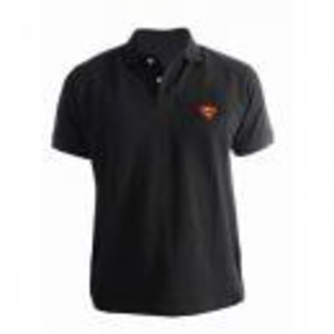 Merchandising SUPERMAN - Polo - Logo Superman - Black (M)