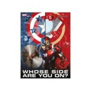 Merchandising MARVEL CIVIL WAR - GLASS POSTER - Whose Side Are You - 30X40 Cm