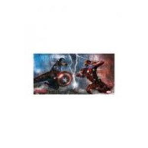 Merchandising MARVEL CIVIL WAR - GLASS POSTER - Duel - 60X30 cm