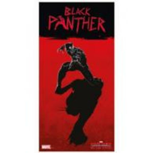 Merchandising MARVEL CIVIL WAR - GLASS POSTER - Black Phanter - 30X60 cm