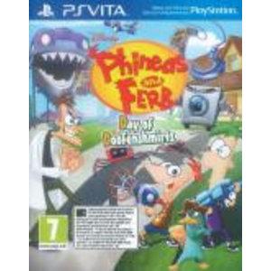 PS Vita Phineas & Ferb Day Of Doofensmirtz
