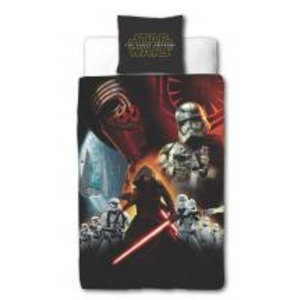 Merchandising STAR WARS 7 - Bed cover 140X200 - The Force Awaken (Poly-Cotton)