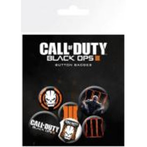 Merchandising CALL OF DUTY BLACK OPS 3 - Pack 6 Badges - Mix