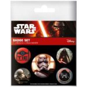 Merchandising STAR WARS 7 - Pack 5 Badges - First Order