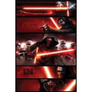 Merchandising STAR WARS 7 - Poster 61X91 - Kylo Ren Panels