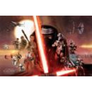 Merchandising STAR WARS 7 - Poster 61X91 - Galaxy