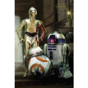 Merchandising STAR WARS 7 - Poster 61X91 - Droids
