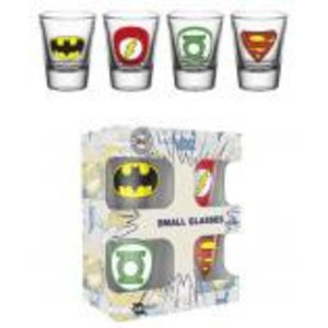 Merchandising DC COMICS - Shot Glass - Logos