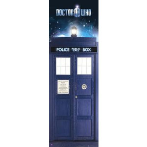 Merchandising DOCTOR WHO - Door Poster 53X158 - Tardis