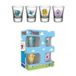 Merchandising ADVENTURE TIME - Shot Glass - Characters
