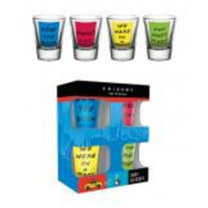 Merchandising FRIENDS - Shot Glass - Quotes
