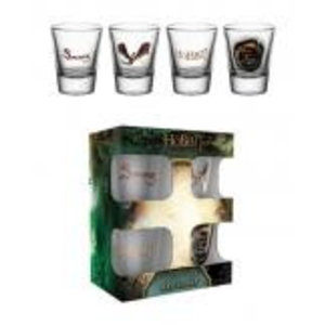 Merchandising THE HOBBIT - Shot Glass - Battle of FIve Armies Smaug