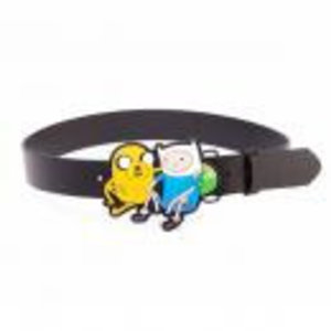 Merchandising ADVENTURE TIME - Belt - Finn & Jake Black Belt (XL)