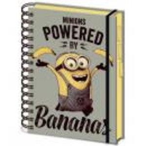 Merchandising MINIONS - Notebook A5 - Banana