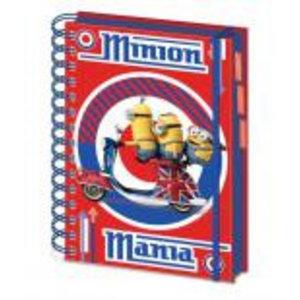 Merchandising MINIONS - Notebook A5 - Mania