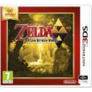 3DS The Legend of ZELDA : A Link Between Worlds SELECT