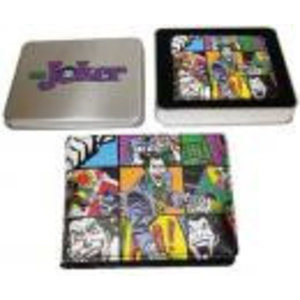 Merchandising THE JOCKER - TIN BOX - Wallet Jocker Wicked