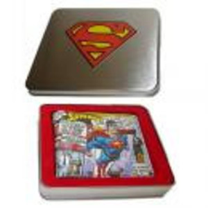 Merchandising SUPERMAN - TIN BOX - Wallet Superman Flying