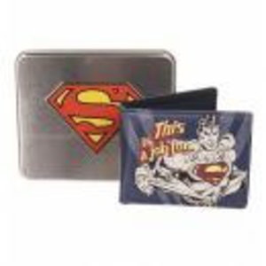 Merchandising SUPERMAN - TIN BOX - Wallet Jof For Superman